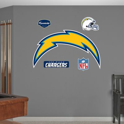 Fathead® NFL San Diego Chargers Logo Wall Graphic