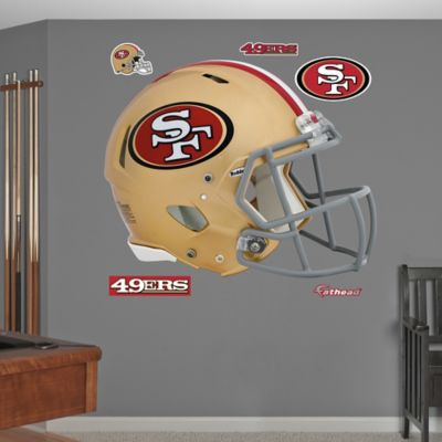Fathead® NFL San Francisco 49ers Revolution Helmet Wall Graphic