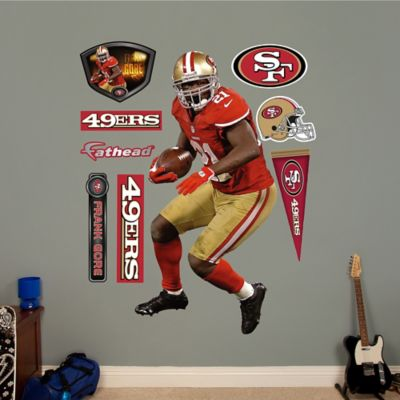 Fathead® NFL San Francisco 49ers Frank Gore Wall Graphic
