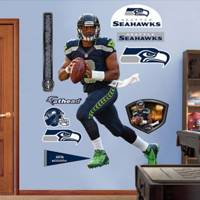 Fathead® NFL Seattle Seahawks Russell Wilson Wall Graphic