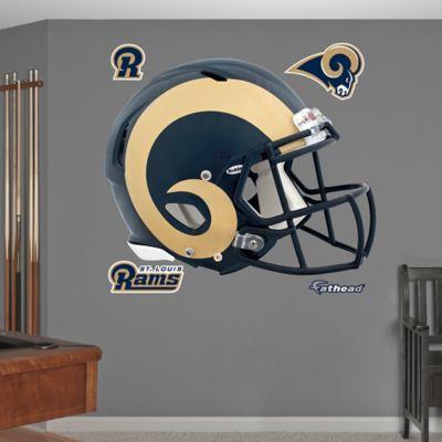 Fathead® NFL St. Louis Rams Revolution Helmet Wall Graphic