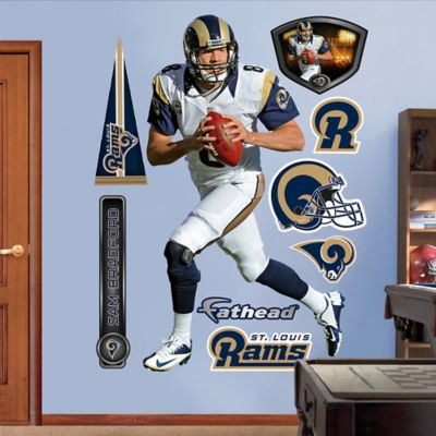 Fathead® NFL St. Louis Rams Sam Bradford Away Wall Graphic