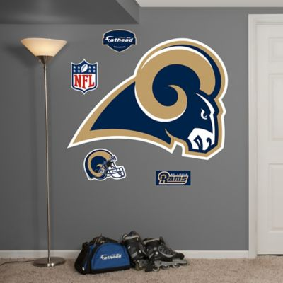 Fathead® NFL St. Louis Rams Logo Wall Graphic