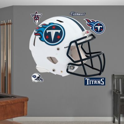 Fathead® NFL Tennessee Titans Helmet Wall Graphic