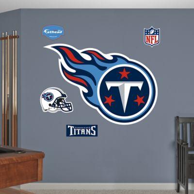 Fathead® NFL Tennessee Titans Logo Wall Graphic