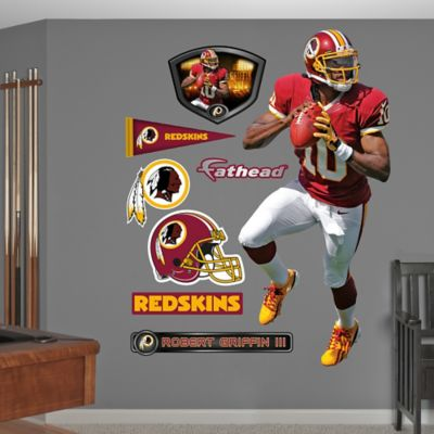 Fathead® NFL Washington Redskins Robert Griffin III Home Wall Graphic