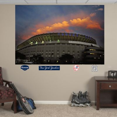 Fathead® MLB New York Yankees Old Stadium Mural Wall Graphic