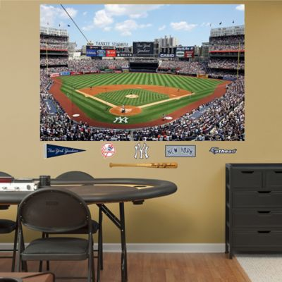Fathead® MLB New York Yankees Stadium Mural Wall Graphic