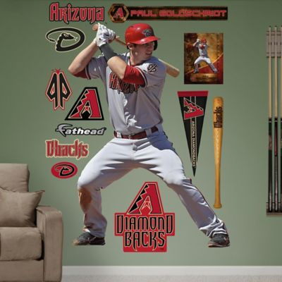 Fathead® MLB Arizona Diamondbacks Paul Goldschmidt Away Wall Graphic