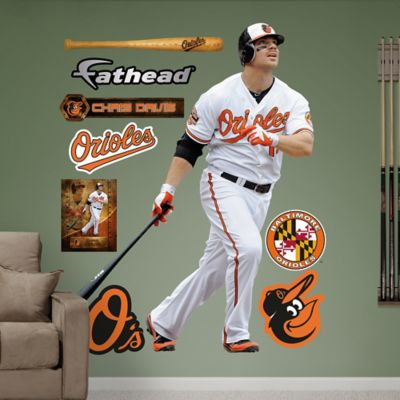 Fathead® MLB Baltimore Orioles Chris Davis Home Wall Graphic