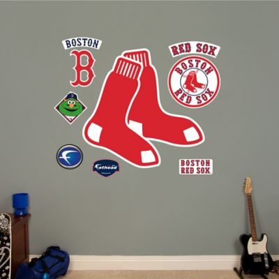 Fathead® MLB Boston Red Sox Logo Wall Graphic