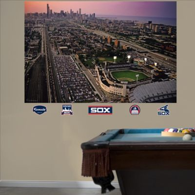 Fathead® MLB Chicago White Sox Stadium Skyline Mural Wall Graphic