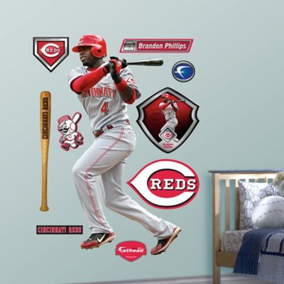 Fathead® MLB Cincinnati Reds Brandon Phillips Away Wall Graphic
