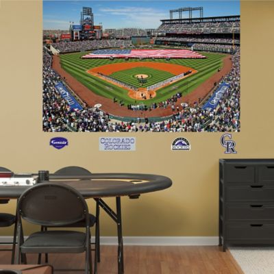 Fathead® MLB Colorado Rockies Stadium Mural Wall Graphic
