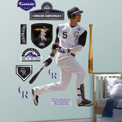Fathead® MLB Colorado Rockies Carlos Gonzalez Homel Wall Graphic