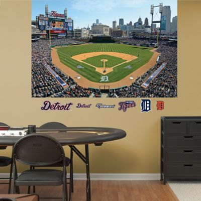 Fathead® MLB Detroit Tigers Stadium Mural Wall Graphic