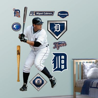 Fathead® MLB Detroit Tigers Miguel Cabrera Home Wall Graphic