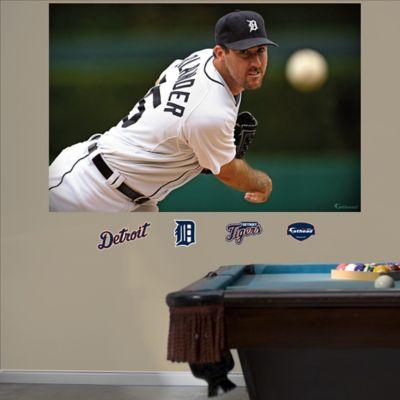 Fathead® MLB Detroit Tigers Justin Verlander Mural Wall Graphic