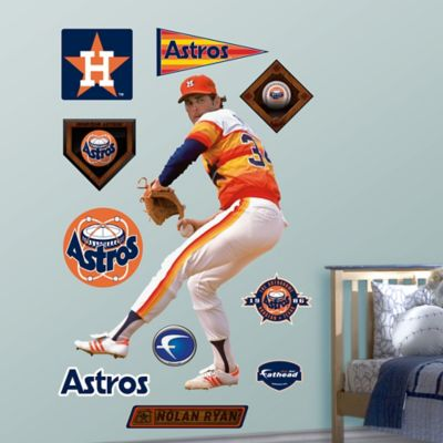 Fathead® MLB Houston Astros Nolan Ryan Wall Graphic