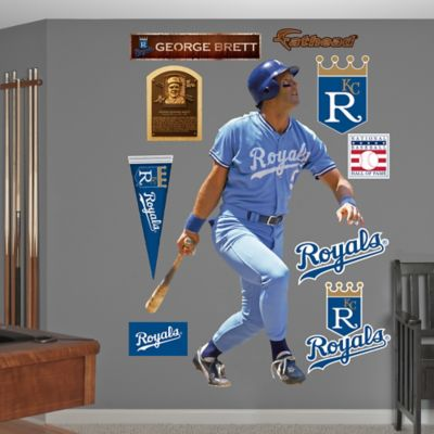 Fathead® MLB Kansas City Royals George Brett Wall Graphic