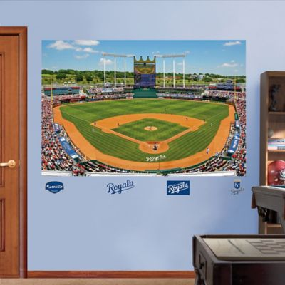 Fathead® MLB Kansas City Royals Stadium Mural Wall Graphic