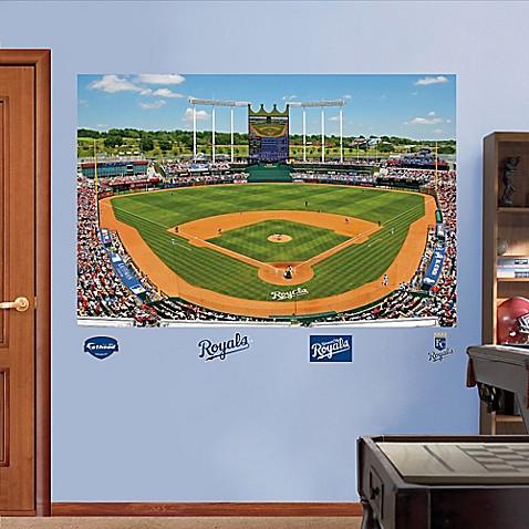Fathead Mlb Kansas City Royals Stadium Mural Wall Graphic
