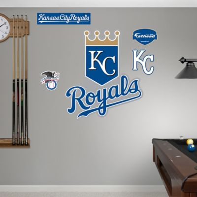 Fathead® MLB Kansas City Royals Logo Wall Graphic