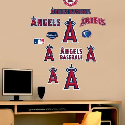 Fathead® MLB Los Angeles Angels Logo Sheet Junior Wall Graphic