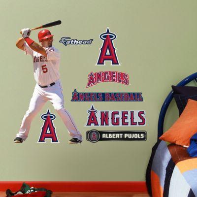 Fathead® MLB Los Angeles Angels Albert Pujols Home Junior Wall Graphic