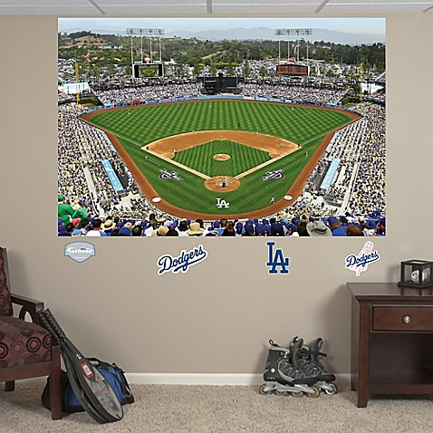 Buy Fathead 174 Mlb Los Angeles Dodgers Stadium Mural Wall