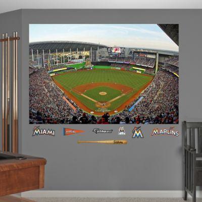 Fathead® MLB Miami Marlins Stadium Mural Wall Graphic