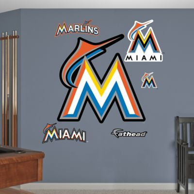 Fathead® MLB Miami Marlins Logo Wall Graphic