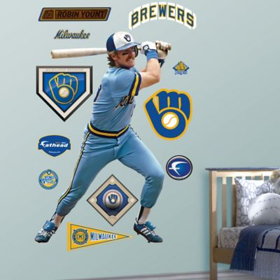 Fathead® MLB Milwaukee Brewers Robin Yount Wall Graphic