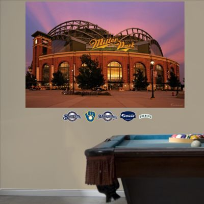 Fathead® MLB Milwaukee Brewers Exterior Stadium Mural Wall Graphic