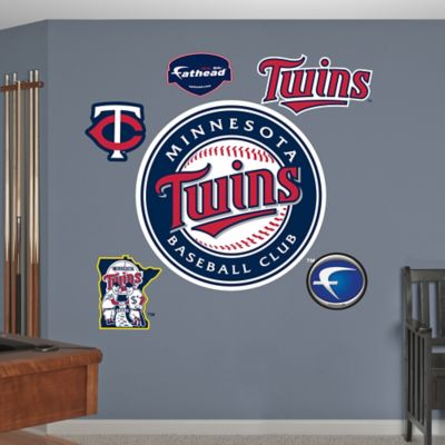 Fathead® MLB Minnesota Twins Logo Wall Graphic