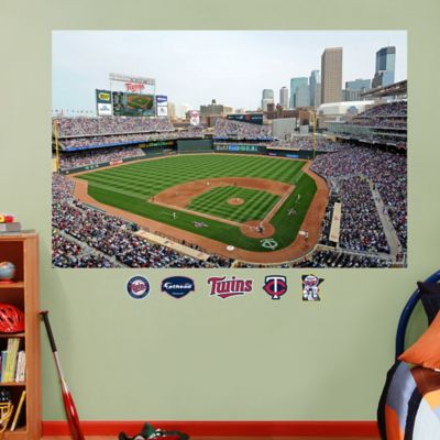 Fathead® MLB Minnesota Twins Stadium Mural Wall Graphic