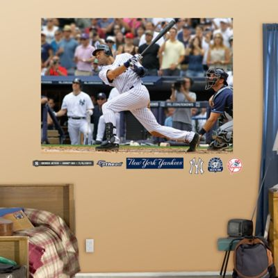 Fathead® MLB New York Yankees Derek Jeter 3000th Hit Mural Wall Graphic