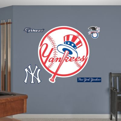 Fathead® New York Yankees Logo Wall Graphic