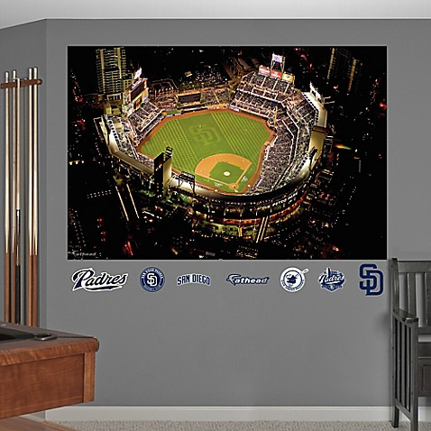 Buy fathead mlb san diego padres stadium mural from bed for Baseball stadium mural