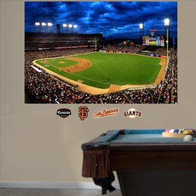 Fathead® MLB San Francisco Giants Stadium Mural Wall Graphic