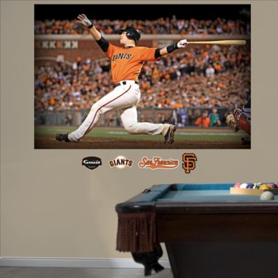 Fathead® MLB San Francisco Giants Buster Posey Mural Wall Graphic