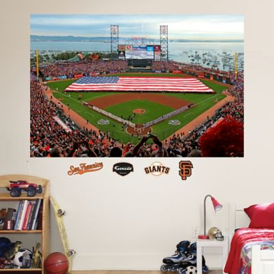 Fathead® MLB San Francisco Giants Flag Stadium Mural Wall Graphic