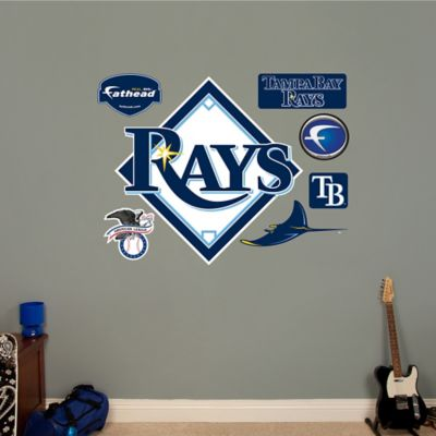 Fathead® MLB Tampa Bay Rays Logo Wall Graphic