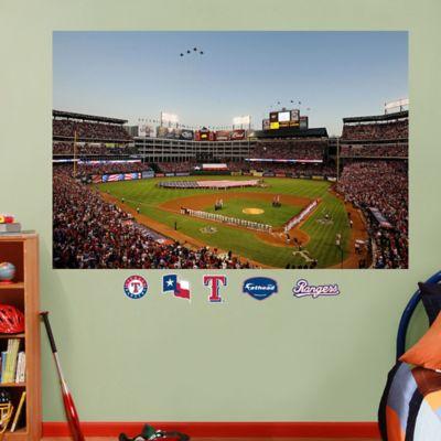 Fathead® MLB Texas Rangers Stadium Mural Wall Graphic