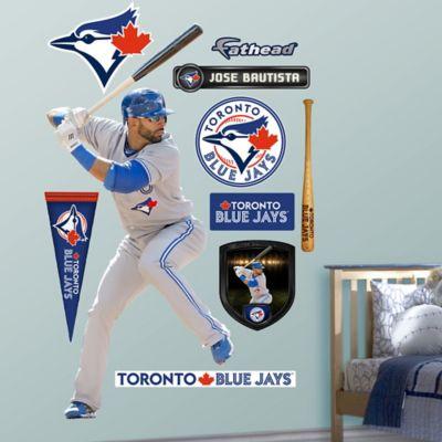 Fathead® MLB Toronto Blue Jays Jose Bautista Away Wall Graphic