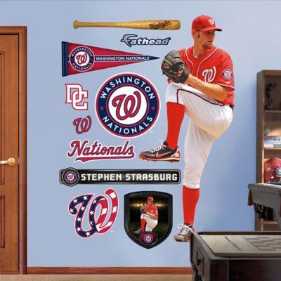 Fathead® MLB Washington Nationals Stephen Strasburg Alternate Wall Graphic