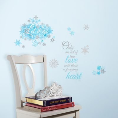 RoomMates Disney® Frozen Let it Go Peel & Stick Wall Decals