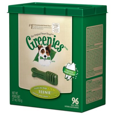 Greenies® TEENIE® 96-Count Canine Dental Chew Treats