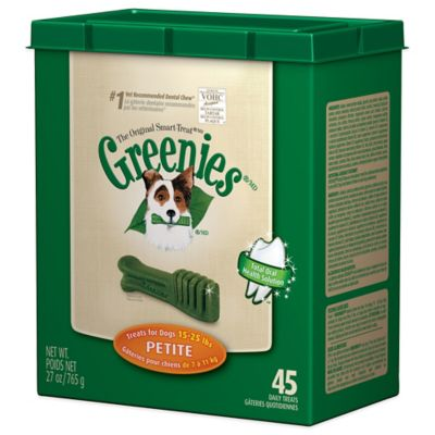 Greenies® Petite 45-Count Canine Dental Chew Treats