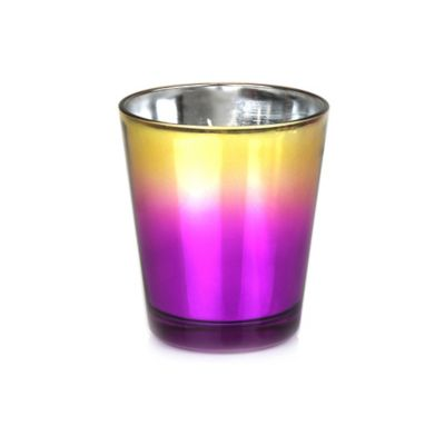 Modern Alchemy Sugar Frosted Cupcake Metallic Ombre Tumbler Candle